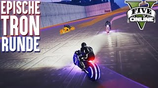 EPISCHE DEATHLINE TRON RUNDE ★ GTA 5 Custom Map (+Download) ★ GTA Online LPmitKev
