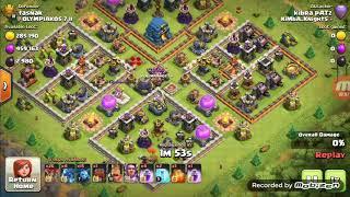 Clash of Clan wall wrecker epic fail