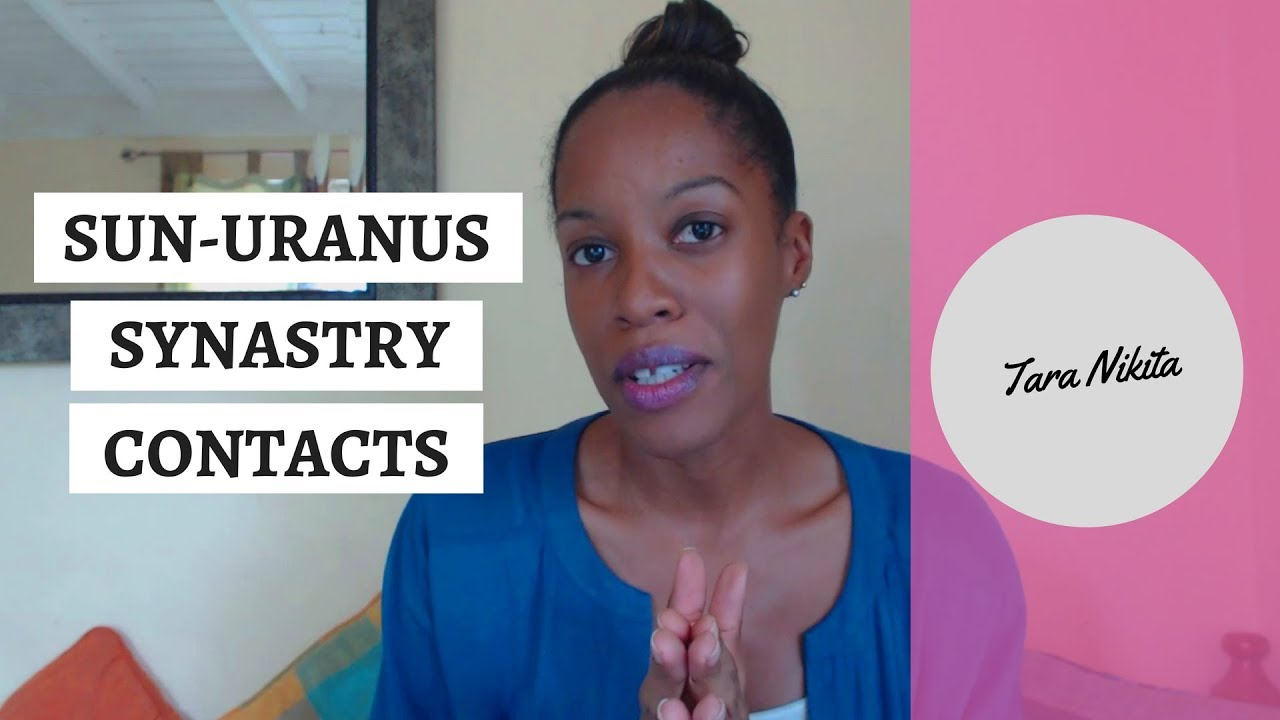 Sun Uranus Contacts In Synastry