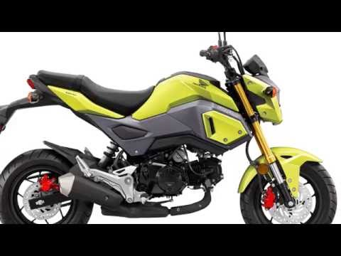2017 Honda Grom Price and realese date - YouTube