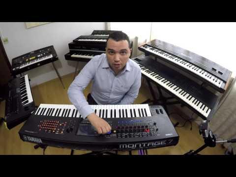 YAMAHA MONTAGE , DEMO NA CLASSIC KEYBOARDS , COM TIAGO AMARAL PIANISTA
