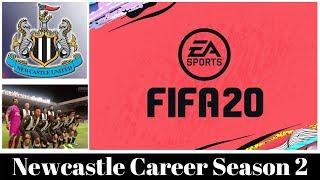Fifa 20 Newcastle Career Mode season 2, Must reach Champions League!