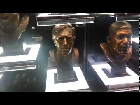 Our Visit To  Pro Football Hall Of Fame 3 24 15