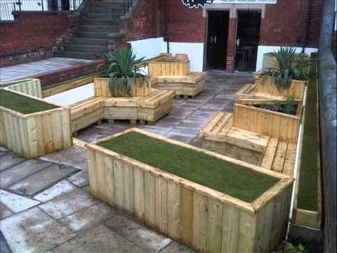 Garden Containers I Creative Garden Containers YouTube