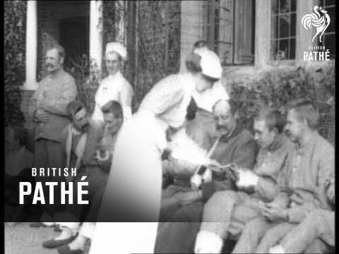 Empress Eugenie's House As Hospital - Part 1 (1914-1918)