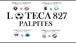 LOTECA 827 PALPITES