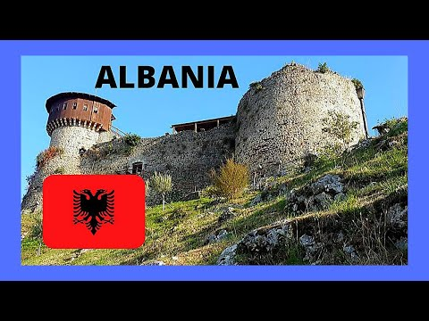 ALBANIA, a tour of the historic Petrelë (Petrela) Castle