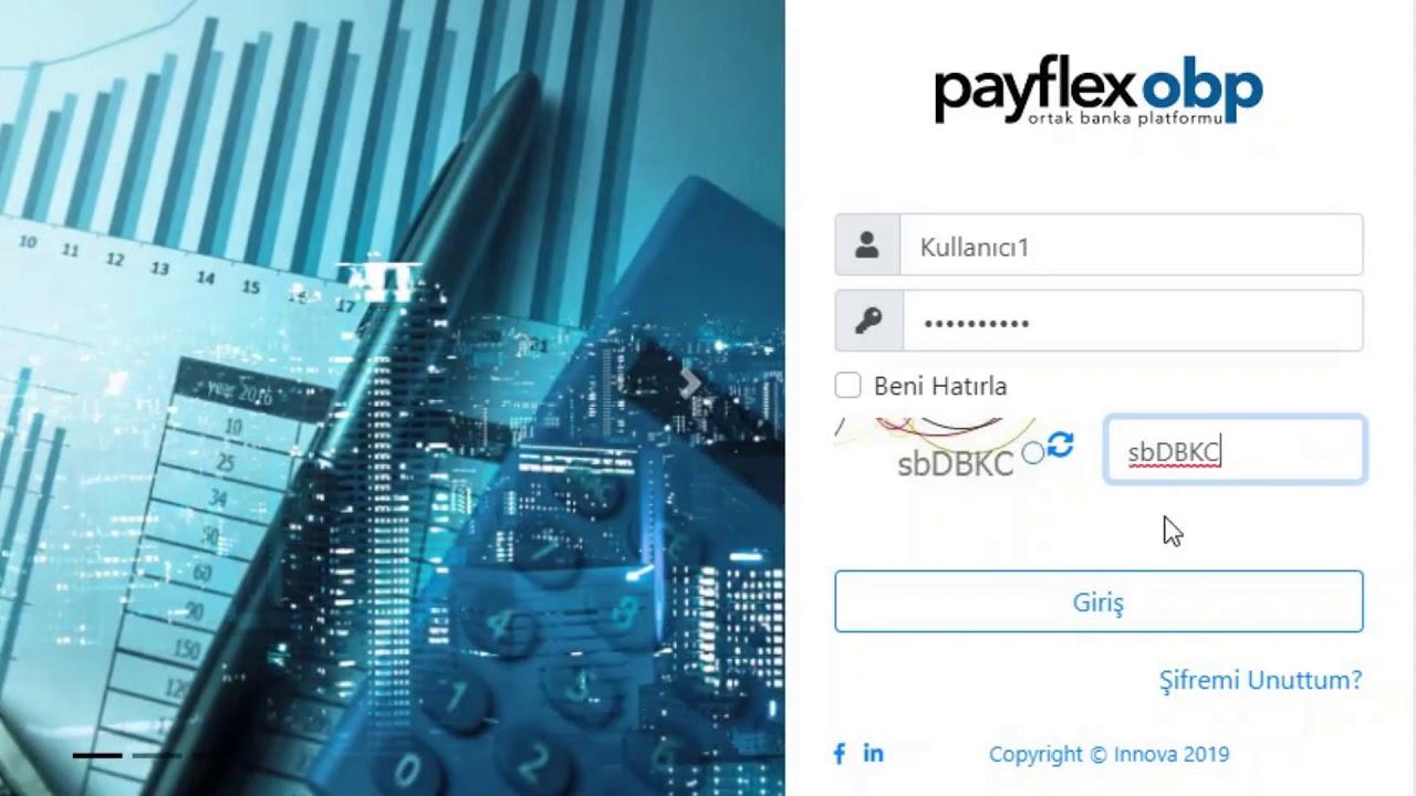 PayFlex OBP | Ortak Banka Platformu