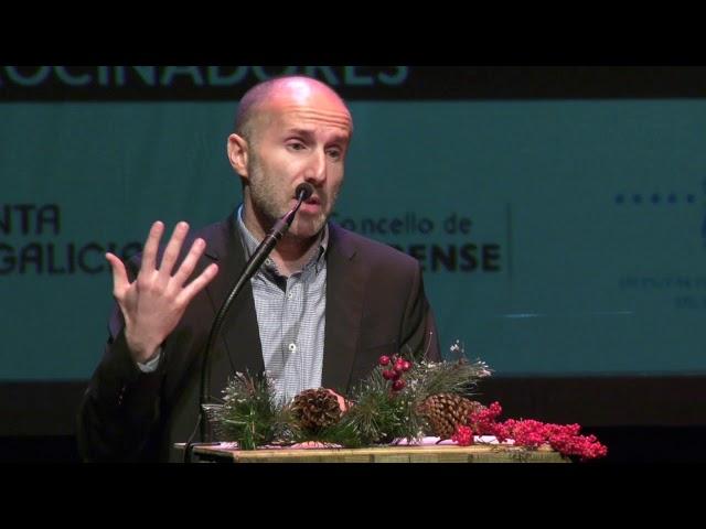 Speech Gonzalo Pérez Jácome VIII Premios AJE Ourense 11 12 19