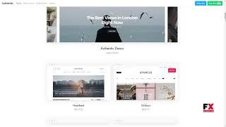 Authentic - Lifestyle Blog and Magazine WordPress Theme      Woody Co