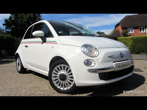 Selling - 2010 Fiat 500 1.2 Lounge, Italian Flag Decals, Full Service History