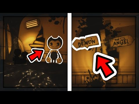 WHAT HAPPENS IF YOU CHOOSE BENDY PATH? | Bendy And The Ink Machine Chapter 3