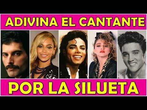 """Adivina El """"CANTANTE POR LA SILUETA"""" Reto/Trivia/Quiz"""