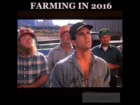 "What it feels like to farm in 2016... Mel Gibson - ""The River"""