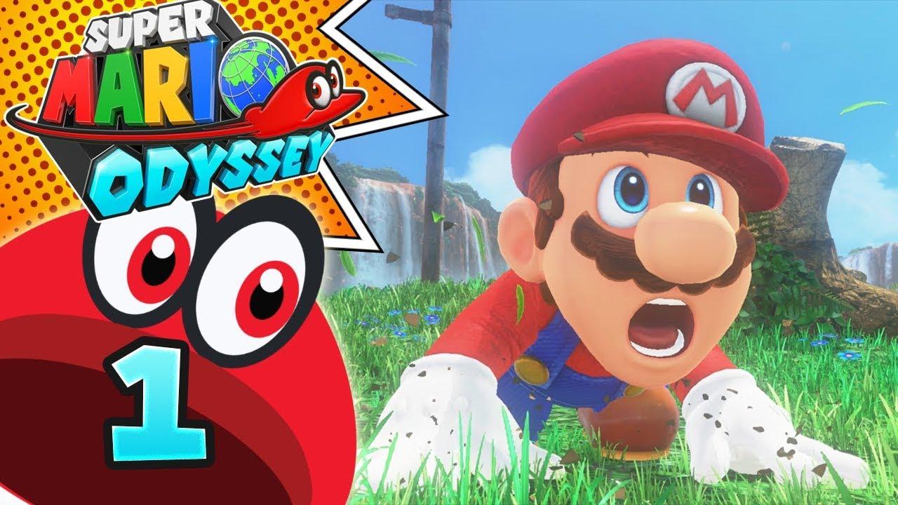 Super Mario Odyssey Ita Parte 1 Mario Sconfitto Youtube