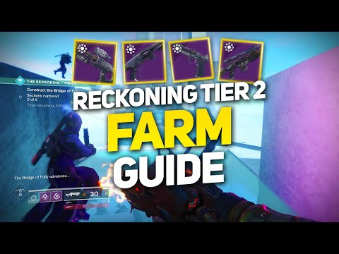 The Reckoning Tier 2 Guide - Tips, Tricks, and Farm Curated Weapons! (Destiny 2 Joker's Wild) thumbnail