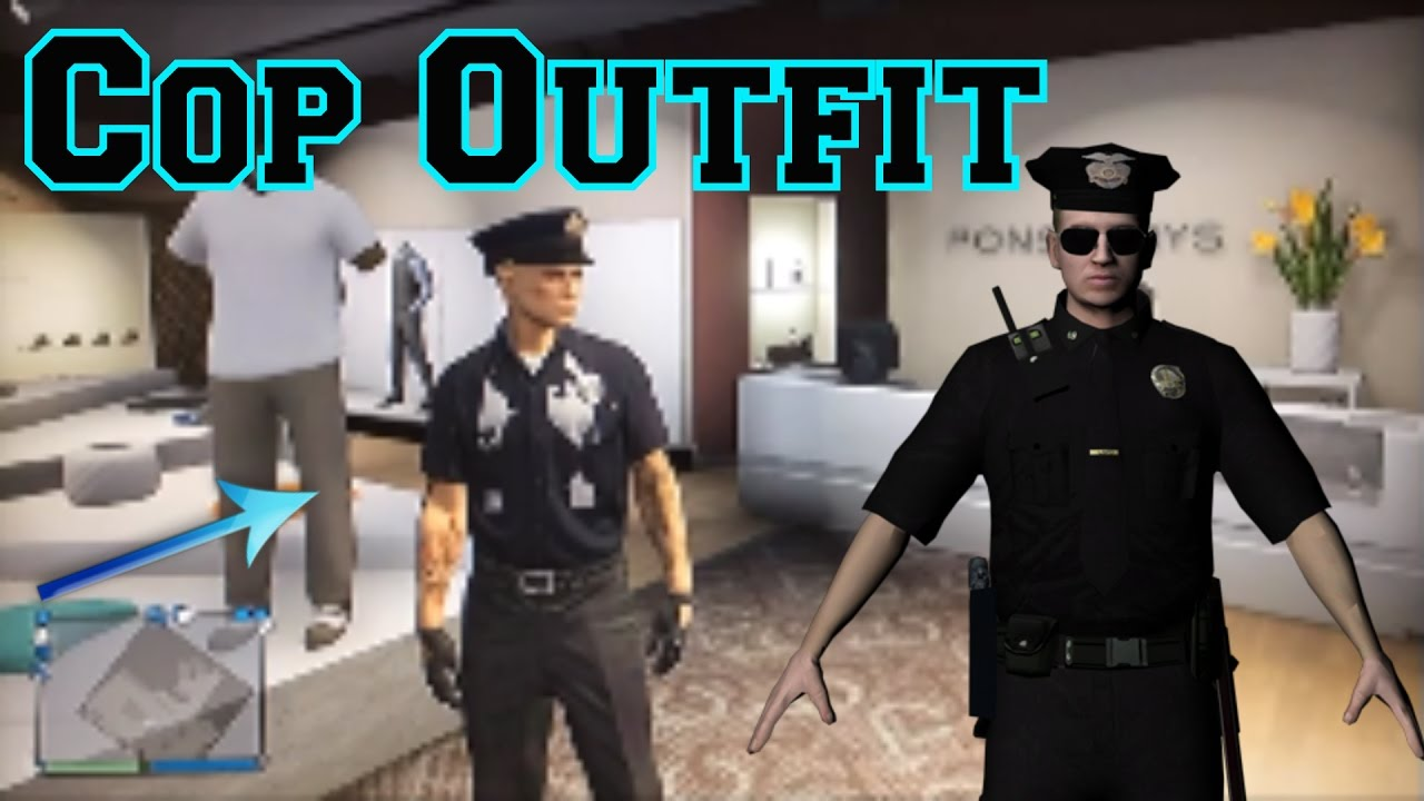 How to become a policeman in GTA