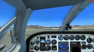 CARENADO -  CESSNA C340 II FSX HD