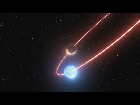 Another Artist's Impression Of S2's Precession Effect