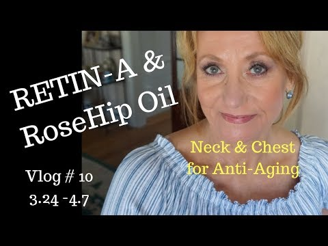Vlog 10 | Using Retin-A for neck and chest Anti Aging | Mature Beauty | Sixty Plus