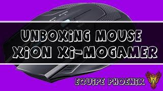 unboxing mouse xion xi mogamer equipe phoenix