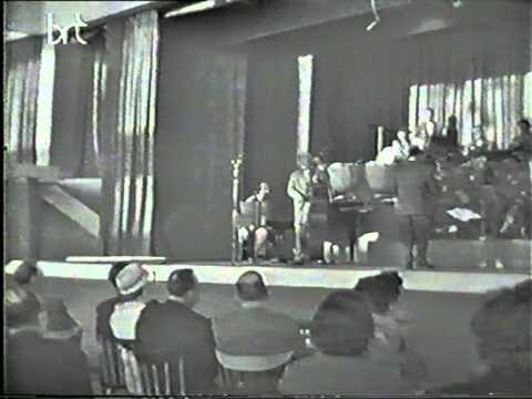 Chris Sent & Willy Rockin & his orchestra , Brussel expo 58.  So ein Kuss kommt von allein