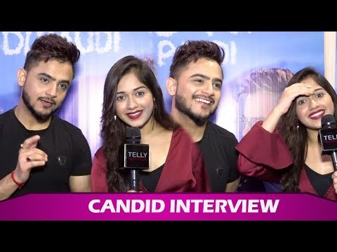 Candid Interview With Millind Gaba & Jannat Zubair| Zindagi Di Paudi Song