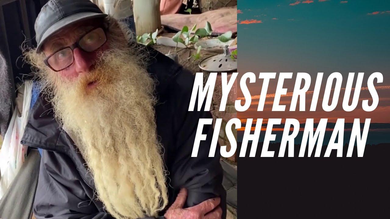 This is a Mysterious Fisherman, He is Not Materialistic He Lives on Fish for 6 years
