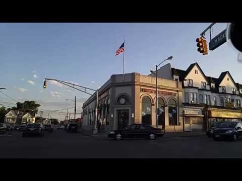 Driving by Paterson,New Jersey