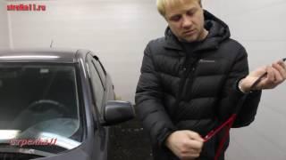 видео Дефлекторы капота и боковых стекол Mitsubishi (Митсубиси)