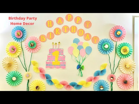 birthday-party-home-decor-ideas-|-easy-diy