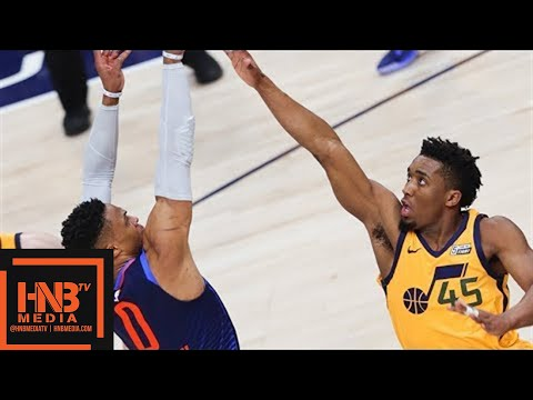 Oklahoma City Thunder vs Utah Jazz Full Game Highlights / Ga