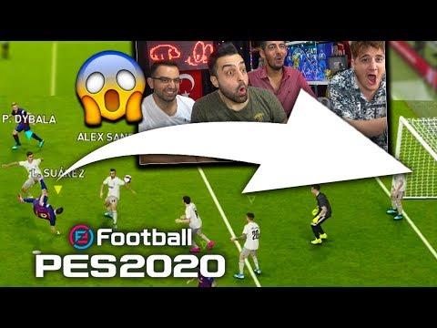PES 2020 İLK RÖVAŞATA EFSANE GOL !! (1VS3 KAPIŞMA) - BEN TEK HEPİNİZ !