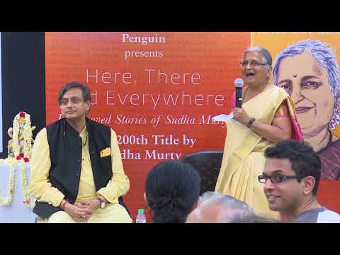 Here, There And Everywhere With Sudha Murty And Shashi Tharoor Part 2