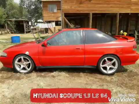 hyundai scoupe 1 5 ls 1994 youtube. Black Bedroom Furniture Sets. Home Design Ideas