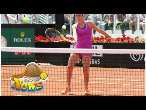 Roberta vinci loses against alexandra krunic in her farewell match in rome