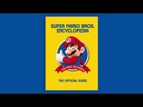 super-mario-bros.-encyclopedia-official-book-trailer