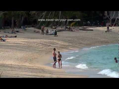 Quiet Beach On Koh Samui (Mae Nam) – Thailand