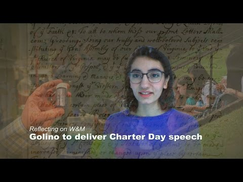 Golino '17 reflects on W&M