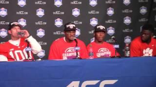 TigerNet.com -Dabo Swinney, players ACC Championship postgame - 12.5.2015