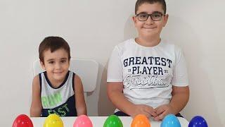Berat ile Buğra Çikolata Yarışması Yaptı. Buğra and Berat staged a chocolate challenge