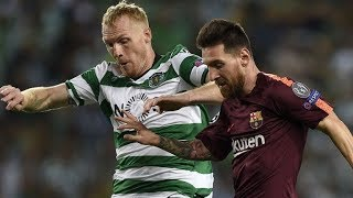 Video Gol Pertandingan Sporting CP vs FC Barcelona