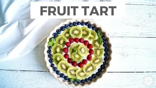 Fresh Fruit Tart With A Gluten-Free Crust  Healthy Grocery Girl Cooking Show