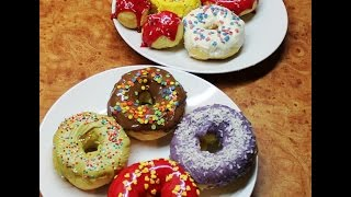 Рецепт: Готовим Пончики в Глазури Дома =)(Всех женщин с 8 марта!!! самый классный и вкусный рецепт нежнейших пончиков пирожных =) ГРУППА VK--------------------------..., 2015-03-07T21:57:34.000Z)
