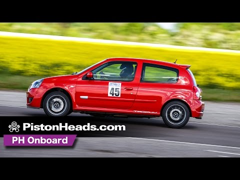 Renault Clio 182 Trophy at Blyton Park | onboard | PistonHeads
