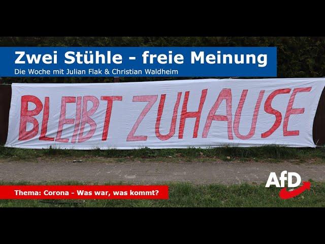 Zwei Stühle - freie Meinung (Folge 6): Corona - Ausgangssperren in Deutschland