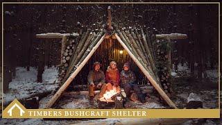 03/ BUSHCRAFT SHELTER - Mors Kochanski Inspired
