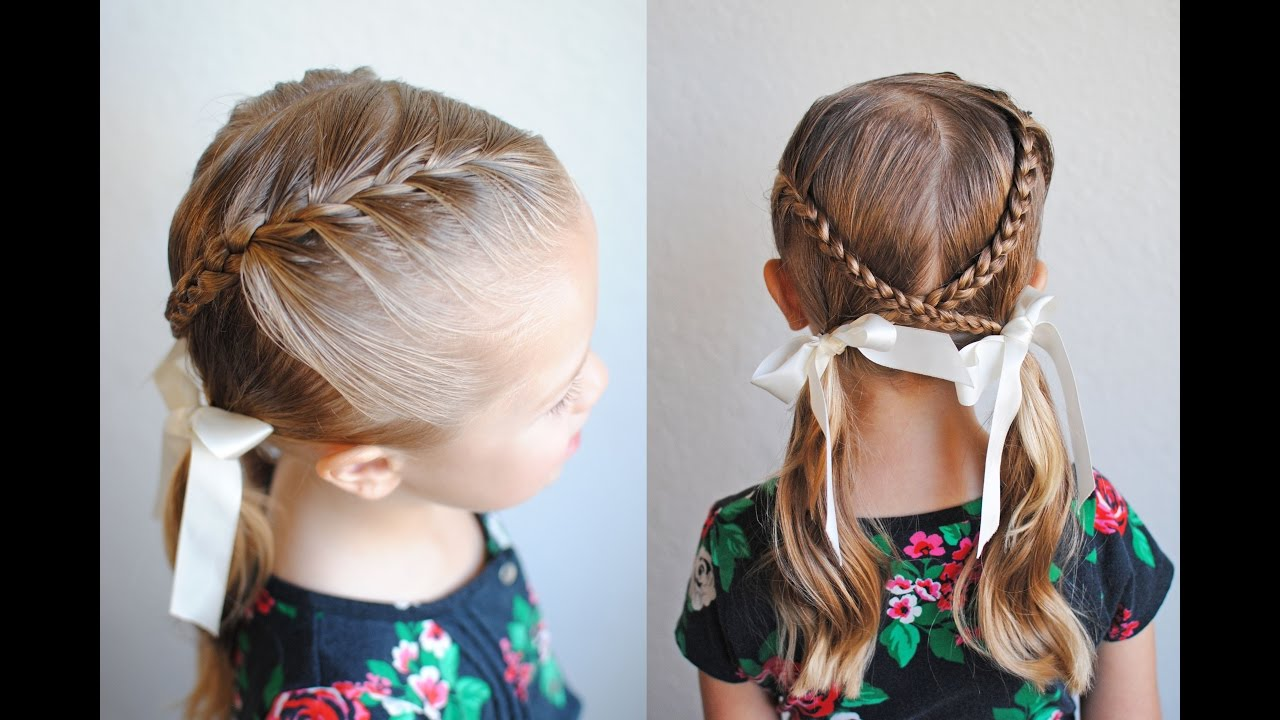 How To French Braid  Braids Into Pigtails  Q's Hairdos