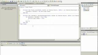 Simple Visual Basic Settings Continued  - Using True / False