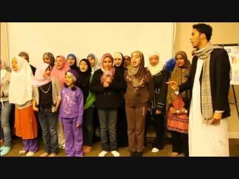 Nasheed Ya Makkah - Qari Youssef with his ICSGV Quran Academy students